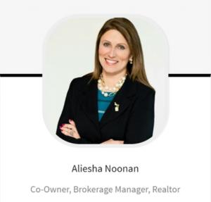 Aliesha Noonan Realtor